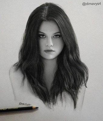 Zeichnung: Selena Gomez