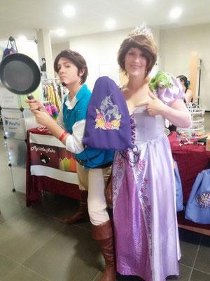 Flynn (NF-Fantasy) Und Rapunzel (Cos-Manic)