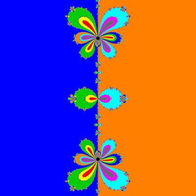 Basins of Attraction (z+4)(z+3)(z+2)(z+1)(z-1)(z-2)(z-3)(z-4)=0 Bahgat-Verfahren, B=[-1, 1]x[-1, 1]