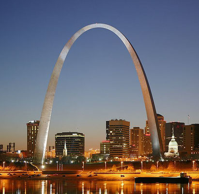 Gateway Arch in St. Louis, Missouri (USA)