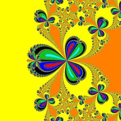 Basins of Attraction z^6-10z^3+8=0, Whittaker I-Verfahren