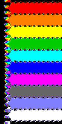 Basins of Attraction exp(z)-1=0 Jarratt-Verfahren