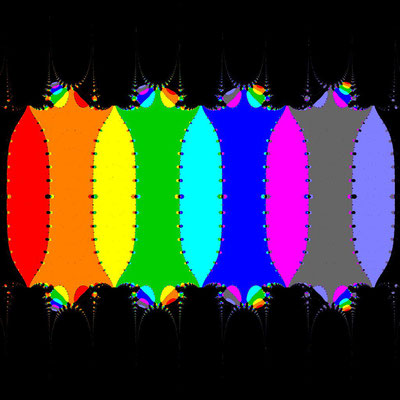 Basins of Attraction sin(z)=0 Steffensen-Verfahren, beta=0.01, B=[-15, 15]x[-15, 15]