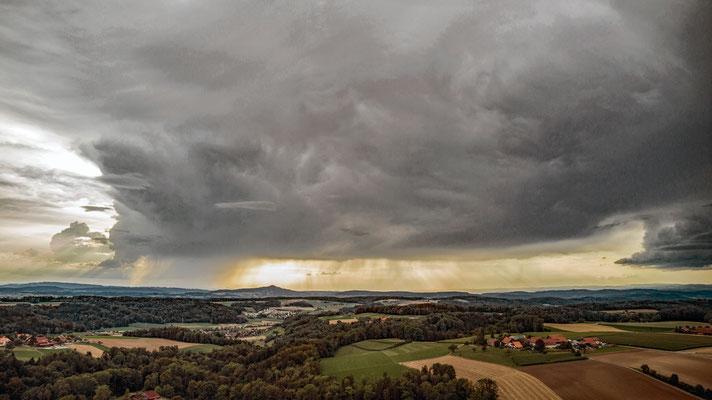 2020, Woche 36, Unterwagenburg Gewitterstimmung