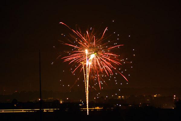 Nr. 5032 / Woche 32 / Feuerwerk bei Tagelswangen / 6000 x 4000 / JPG-Datei