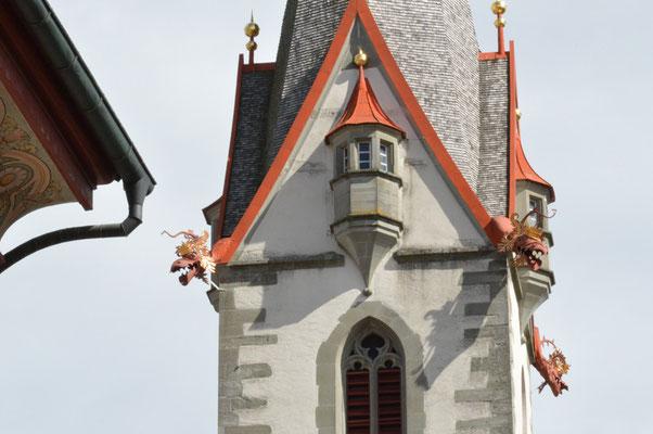 Nr. 116 / 26.08.2012 / Stein am Rhein, Kirche am Rathausplatz / 6016 x 4000 / JPG-Datei