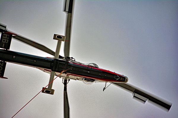 5130 /  Woche 30 / Sihltal Helikopter K-Max beim Holztransport