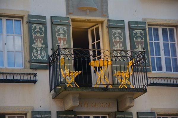 Nr. 5026 / Woche 26 / Horgen, Balkon im Zentrum / 6000 x 4000 / JPG-Datei