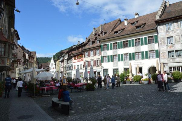 Nr. 122 / 26.08.2012 / Stein am Rhein, Rathausplatz / 6016 x 4000 / JPG-Datei