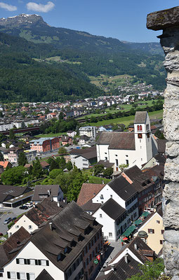 5224 / Woche 24 / Sargans, Blick vom Schloss