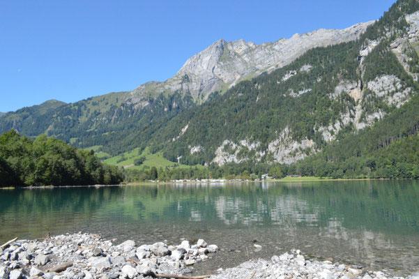 Nr. 219 / 08.09.12 / Klöntalersee, Südufer, Blick Richtung Nord-West / 6016 x 4000 / JPG-Datei