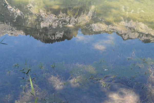 Nr. 217 / 08.09.12 / Klöntalersee, Spiegelung, Blick Richtung Nord / 6016 x 4000 / JPG-Datei