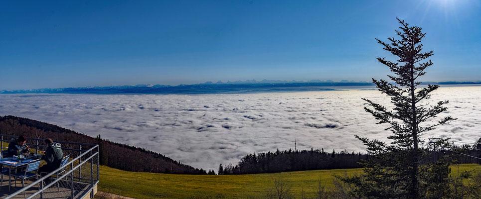 2020, Woche 48, Blick in die Alpen vom Weissenstein