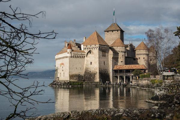 2020 Woche 8, Schloss Chillon am Genfersee