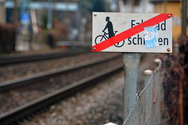 Nr. 5013/ Woche 13 / Horgen, See-Uferweg beim Bahnhof/ 6000 x 4000 / JPG-Datei