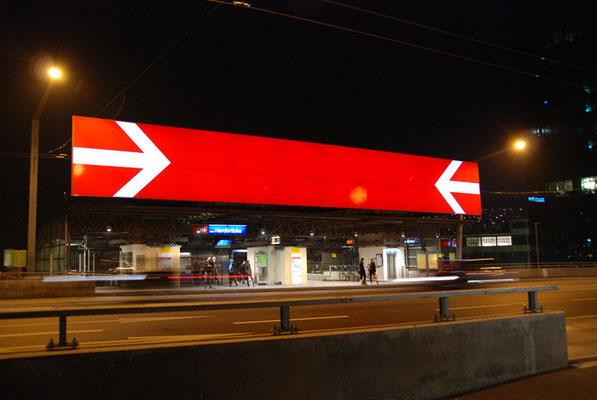 Nr. 112 / 04.03.12 / Zürich Hardstrasse Bahnhof Hardbrücke / 3872 x 2592 / JPG-Datei