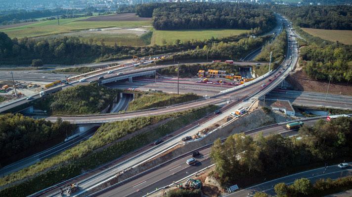 2020, Woche 43, Weininger-Autobahnkreuz