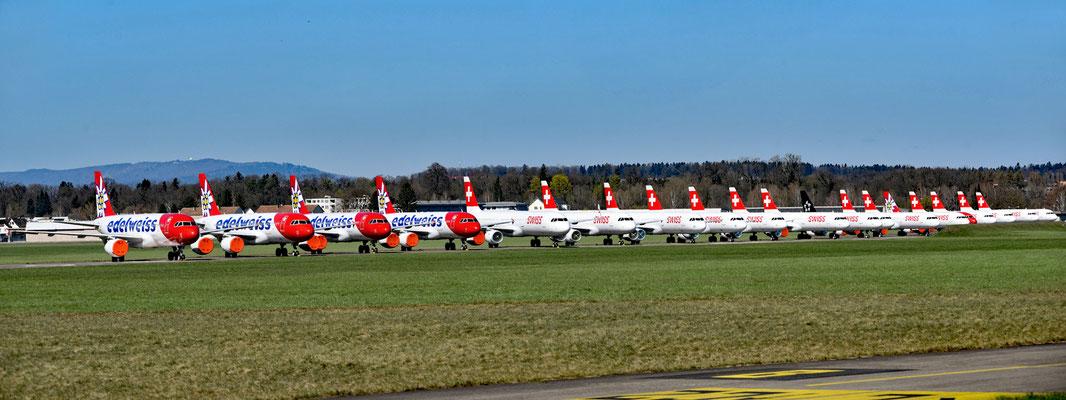 2020 Woche 14, Flughafen Dübendorf