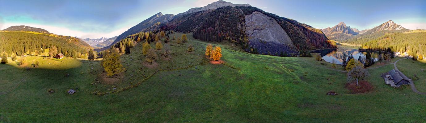 Obersee, Blickwinkel 360 Grad