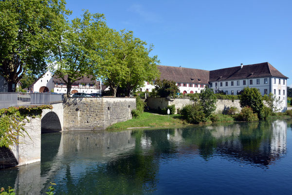 Nr. 3000 / 17.08.2014 / Kloster Rheinau / 6000 x 4000 / JPG-Datei