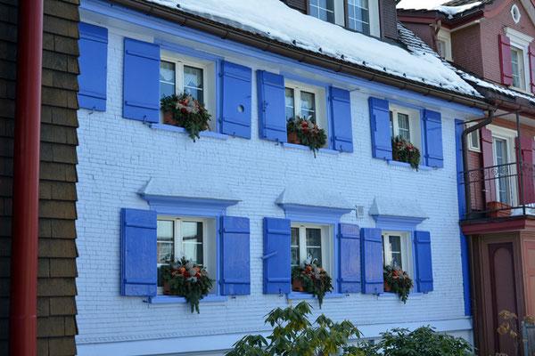 Nr. 5111 / Woche 11 / Appenzell, Haus im Dorfzentrum