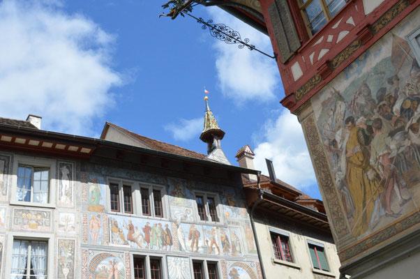 Nr. 116 / 26.08.2012 / Stein am Rhein, Rathausplatz / 6016 x 4000 / JPG-Datei