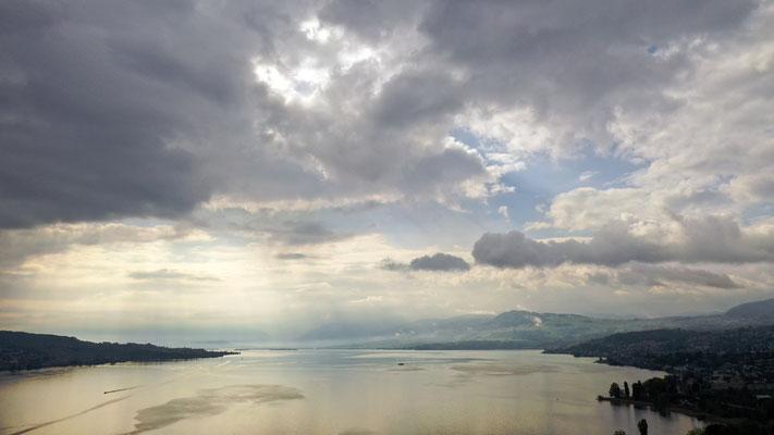 2019, Woche 21, Wolkenstimmung über dem Zürichsee