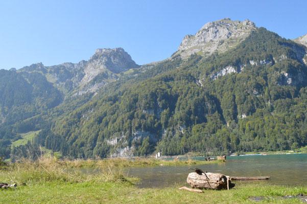 Nr. 222 / 08.09.12 / Klöntalersee, Südufer, Blick Richtung Nord / 6016 x 4000 / JPG-Datei