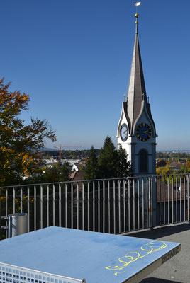 5245 / Woche 45 / Uster, Reformierte Kirche am Schlossweg