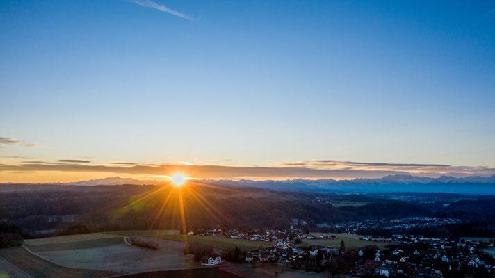 2020 Woche 3, Sonnenaufgang bei Lindau