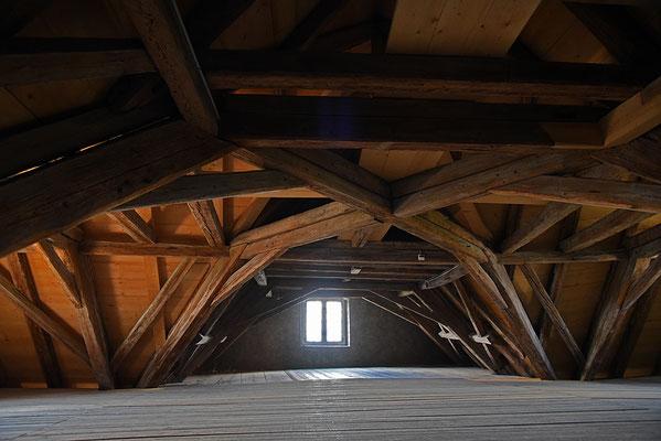 5148 / Woche 48 / Dachdiele, Schloss Wildegg