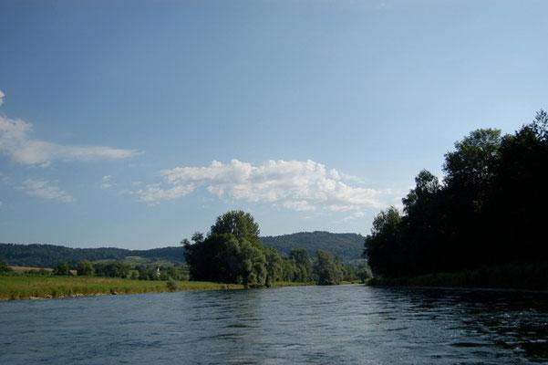 Nr. 267/ 11.07.08 / Schlieren Blick Richtung Kloster-Fahr / 3008 x 2000 / JPG Datei