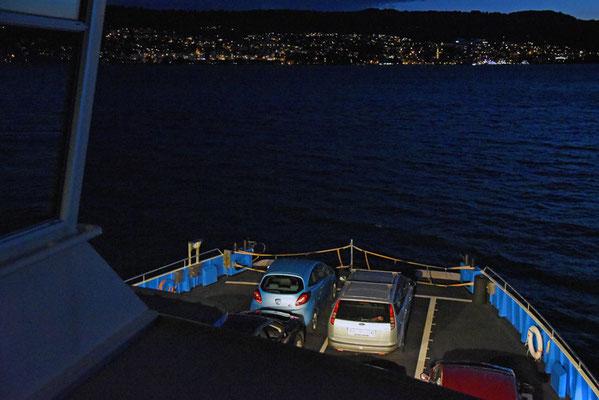 5131 / Woche 31 / Zürichsee, Fährenüberfahrt von Meilen nach Horgen