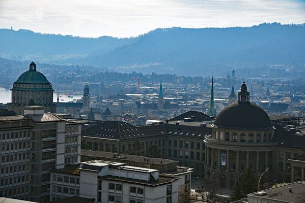 5212 / Woche 12 /Zürich Blickrichtung See
