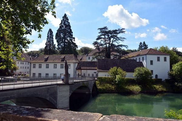 Nr. 3028 / 17.08.2014 / Kloster Rheinau / 6000 x 4000 / JPG-Datei