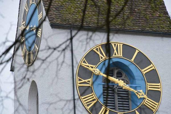 Nr. 5004 / Woche 4 / Bassersdorf, Kirchturm  / 6000 x 4000 / JPG-Datei