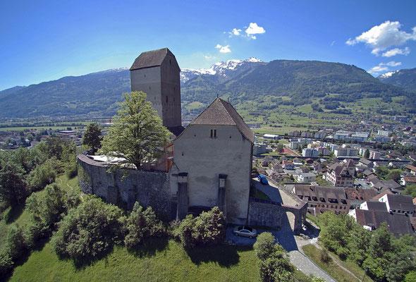 Nr. 2688 / 2017 / Schloss Sargans / 4000 x 3000 / JPG-Datei