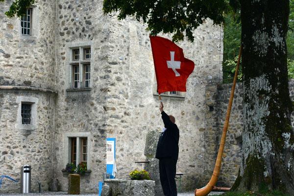 Nr. 2573 / 09.08.2014 / Schloss Hallwyl, Seengen / 6000 x 4000 / JPG-Datei