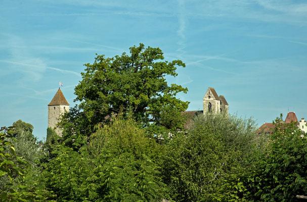 5340 / Wochenbild, Blick auf Schlossturm Rapperswil