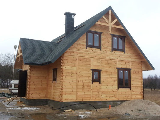 Gont, laminowany, GAF Timberline HD, kolor Slate
