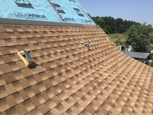 Dachówka, bitumiczna, laminowana, GAF Timberline HD, kolor Shakewood