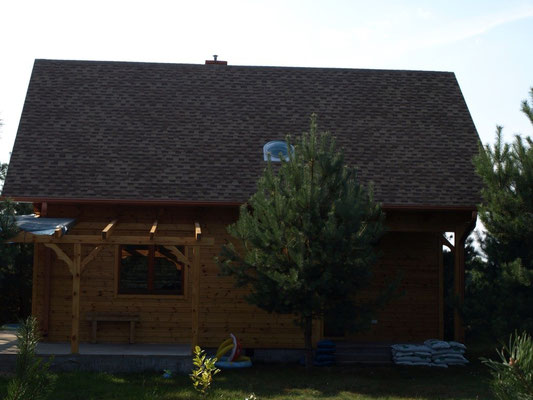 Gont laminowany, GAF, Timberline HD, Weathered Wood