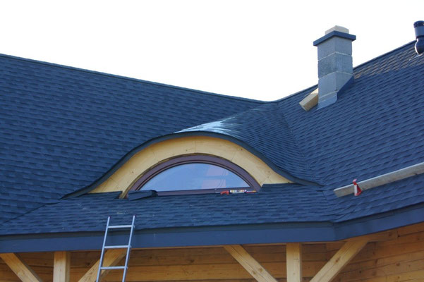 Gont, laminowany, GAF Timberline HD, kolor Charcoal