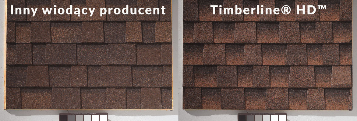 Inny wiodący producent vs GAF Timberline® HD™ (U.S. Patent No. 5,666,766; 5,369,929)