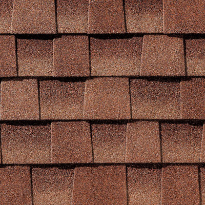 Gonty, GAF, Timberline HD, Kolor: Sunset Brick