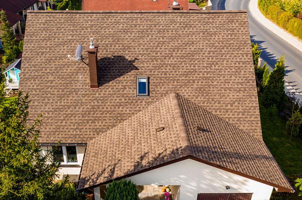 Zbliżenie na elementy dachu