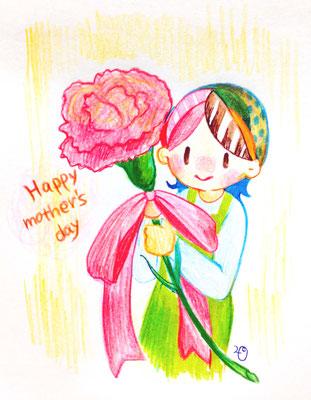 2015 母の日