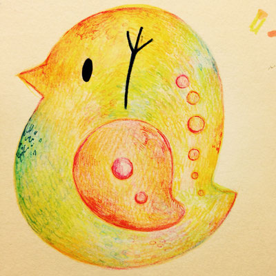 2014 オリジナルキャラ・・・鳥みたいなミジンコ「とりんこ」
