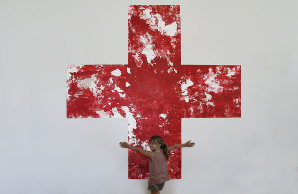 2. Red Cross_1_2012_3100 X 3100 mm