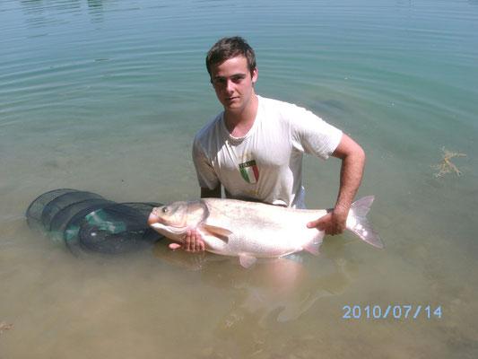 Tolstolop aus dem Baggersee mit 15,5 kg
